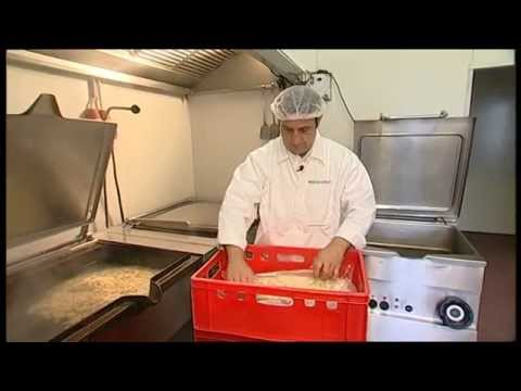 Herstellung Kuttelsuppe / Ciorba de Burta