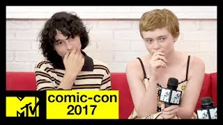 'It' Cast on Pennywise & 'Game of Thrones' Predictions | Comic-Con 2017 | MTV - MTV