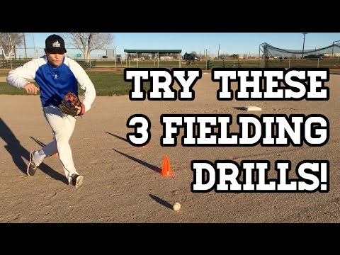 3 GREAT Baseball Fielding Drills for Youth Players!