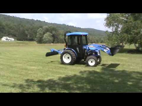 2012 New Holland Boomer 40 Compact Tractor Loader With 250TL Loader Cab 4x4 For Sale