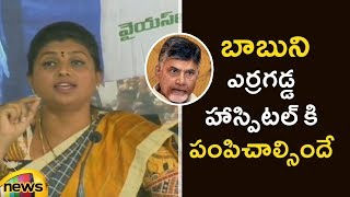 Roja Slams Chandrababu Naidu Over Comments On YCP And BJP Alliance | Roja Press Meet | Mango News - MANGONEWS