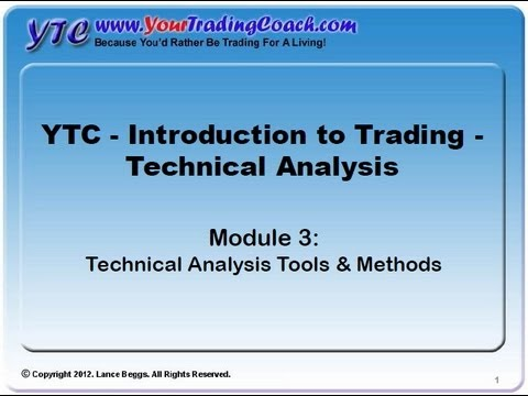 YTC Intro to Technical Analysis (Module 3) - Technical Analysis Tools & Methods
