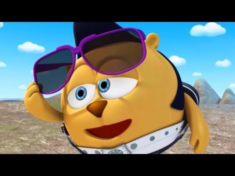 Кадр из мультфильма «Смешарики. Новые приключения. Массы и расстояния»