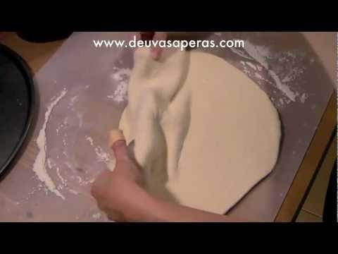 Como Hacer Masa de Pizza Casera Italiana