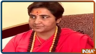 Exclusive: Sadhvi Pragya ने कहां Congress के कुकर्मों ने राष्ट्र को प्रभावित किया - INDIATV