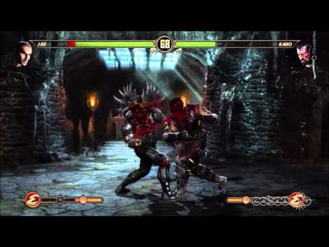 Mortal Kombat Gameplay Demo with Ed Boon (PS3, Xbox 360)
