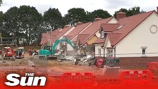 "Disgruntled builder demolishes street over ""unpaid wages"" - THESUNNEWSPAPER"