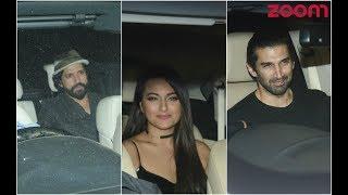 Farhan, Sonakshi, Aditya Attend Karan Johar's 'Single Only' Party - ZOOMDEKHO
