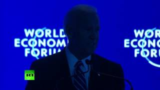 Lights go out on Biden as he talks of US 'leadership' in Davos speech - RUSSIATODAY