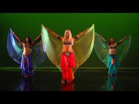 Wings of Isis bellydance - Neon, Angelys, Jenna Rey - belly dancing