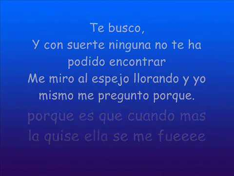 te busco Bachata Heightz lyrics