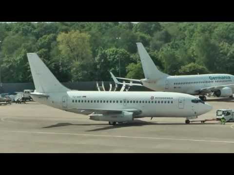 AVIOGENEX B737-200 YU-ANP at Berlin-Tegel 17.05.2013