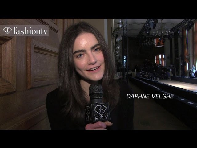 Martin Grant Fall/Winter 2013-14 BACKSTAGE | Paris Fashion Week PFW | FashionTV