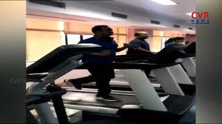 Congress Leader Komatireddy Venkat Reddy Workout Session | Gym | CVR News - CVRNEWSOFFICIAL