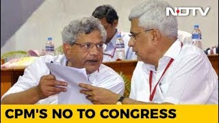 In Key Vote, CPM Rejects Sitaram Yechury's Call For Tie-Up With Congress - NDTV