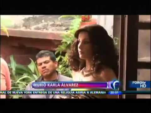 MURIO KARLA ALVAREZ ACTRIZ MÉXICANA 15 NOVIEMBRE 2013 TODOS LOS DETALLES