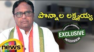 Congress Leader Ponnala Lakshmaiah Exclusive Interview | Full Episode | Mango News - MANGONEWS