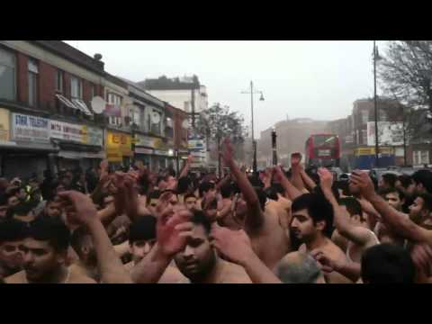 Southall Jaloos 2011 - Ravi Road - Haye Sajjad(as) challe shaam khuda khair karre