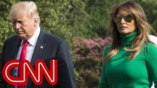 Is Melania Trump trolling her husband? - CNN