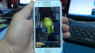 SAMSUNG Galaxy J1 J100h HardReset