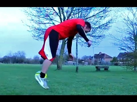 Crazy Flipping Football Freestyle