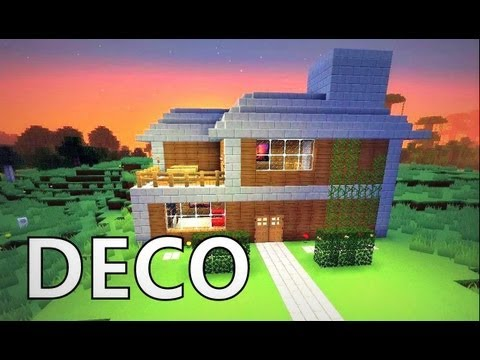 Videos maison de luxe minecraft videos - Comment faire une maison de luxe dans minecraft ...