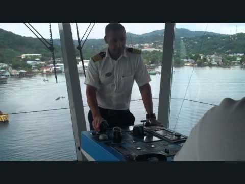 Celebrity Solstice - Navigation Bridge -Ship Tour