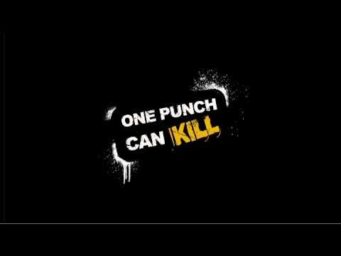 One Punch Can Kill cinema advertisement
