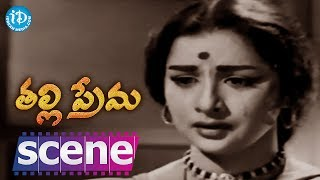 Thalli Prema Movie Climax Scene || NTR, Savitri - IDREAMMOVIES