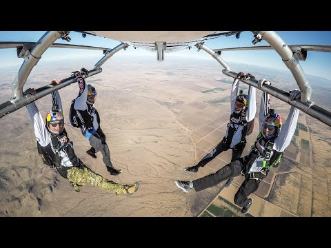 Freefall Frenzy w/ the Red Bull Air Force
