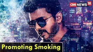 #VijayCigaretteRow | Promoting Smoking | CNN News18 - IBNLIVE
