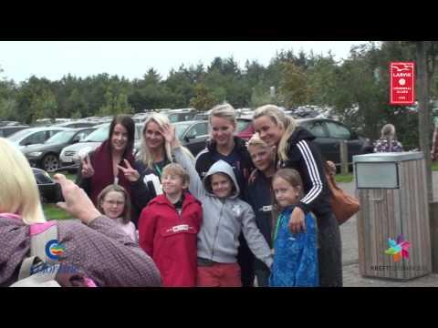 Fårup Sommerland med kreftforeningen, Color Line og Larvik Håndballklubb