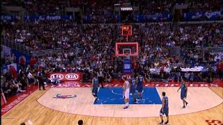 Jamal Crawford's 55 Foot Buzzer Beat Helps Clips Win By 2