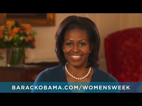 First Lady Michelle Obama: Women's Week of Action Starts March 23rd