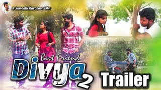 Best Friend Divya Trailer | Heart Touching Love Story | Latest Telugu Short Film Trailer |2019 - YOUTUBE