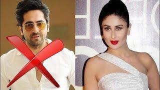 Kareena Kapoor Khan rejeted Ayushmann Khurana | Bollywood News - ZOOMDEKHO