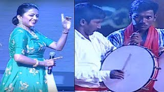 Anchor Suma Mass Dance @ Rangasthalam 100 Days Celebrations | TFPC - TFPC