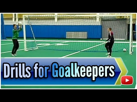 Soccer Drills and Techniques for Goalkeepers - Coach Joe Luxbacher