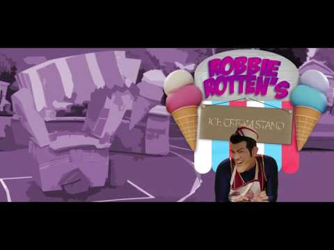 Bonus Level - Robbie Rotten's Ice Cream Stand
