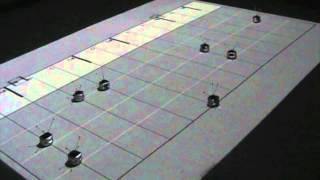 Piano-Playing Swarm Robots