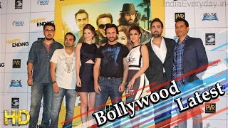 Saif Ali Khan Govinda Ileana Kalki at audio launch of Happy Ending - HUNGAMA