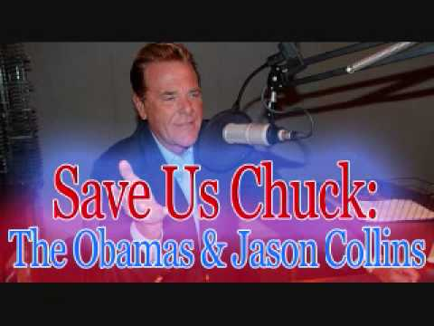 Save Us Chuck - The Obamas & Jason Collins