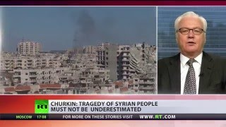 'Let's not underestimate tragedy of Syrian civilians' - Russian UN envoy - RUSSIATODAY