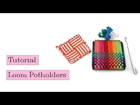 Tutorial - Loom Potholders