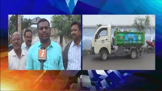 Pothana Nagar Residents Protest Against Dumping Yard | Greater Warangal | iNews - INEWS