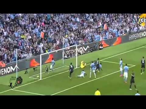 اهداف مباراة مانشستر سيتي 1-2 وست هام الدورى الانجليزى