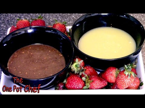 Chocolate Fondue Dips for Valentine's Day - RECIPE
