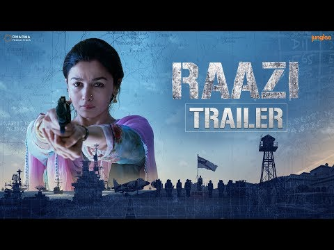 <p><span>Watch the Official Trailer of 'Raazi' starring Alia Bhatt and Vicky Kaushal amongst others. Raazi is based on a true story of a young girl, who was sent to Pakistan in 1971, to source out any </span></p>
