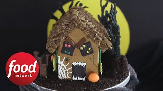 How to Make a Haunted Gingerbread House | Food Network - FOODNETWORKTV