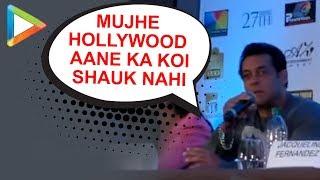 "Salman Khan: ""Mujhe HOLLYWOOD aane ka koi shock nahi"" | Dabangg Reloaded Tour - HUNGAMA"